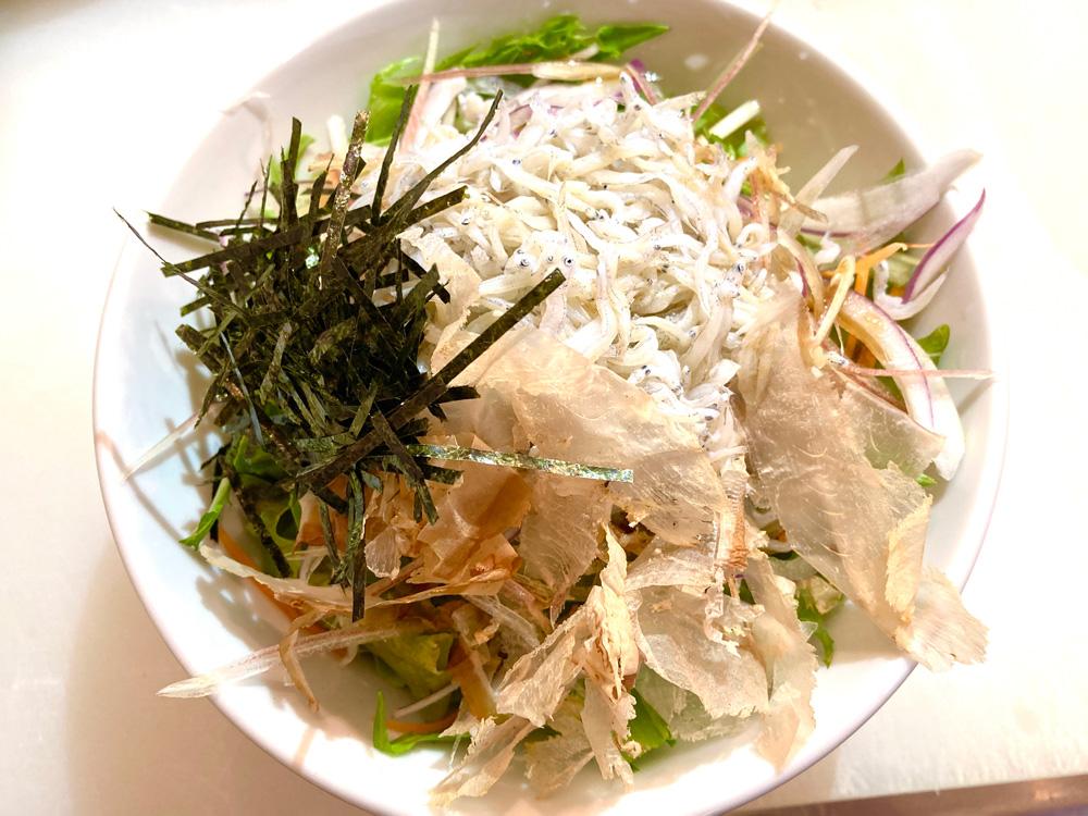 しらすの和風サラダ