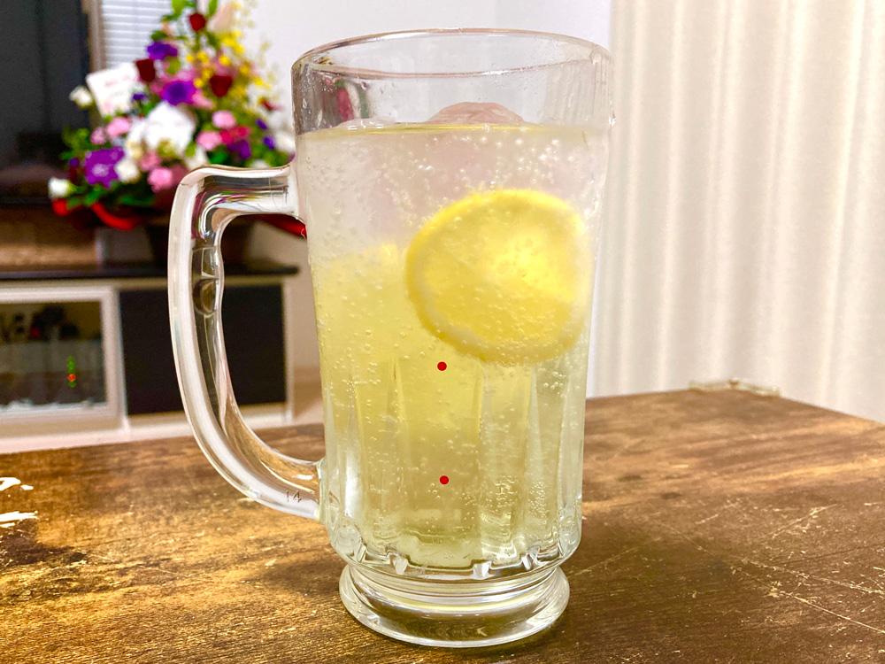 漬け込みレモンサワー